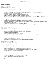 Clerical Assistant Job Description Examples Of Office Assistant Resumes Resumele And Free Best 11