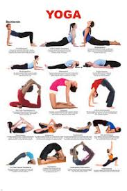 Yoga Pose Chart Poster Details About Yoga Backbends Chart Poster 17 Poses Easy To Read How To New 24x36
