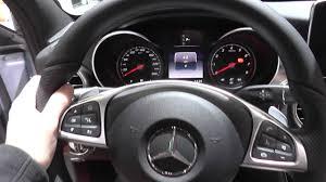 Mercedes C Class W205 Warning Lights Dash Cluster Interior Look Around