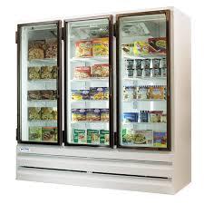 3 door commercial freezer led lights