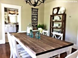 Distressed Wood Kitchen Table Distressed White Kitchen Table With Bench Best Kitchen Ideas 2017