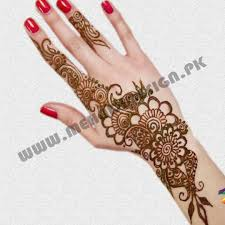 Small Picture Mehndi Design For Hand Simple Small Flower Pakistani Mehndi Design