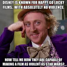 disney is known for happy go lucky films.. with absolutely no ... via Relatably.com