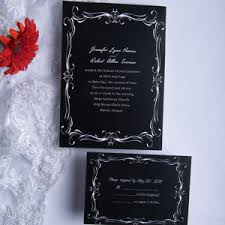 shop black and white wedding invitations online Black Elegant Wedding Invitations discount classic black and white damask wedding invitation kits ewi014 black and white elegant wedding invitations