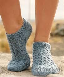 Вязаные короткие <b>носки</b> - <b>Носки</b>,тапочки | Тапки, <b>Носки</b> и ...
