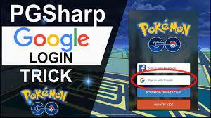 PGSharp Google Login Trick
