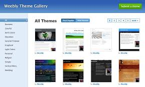Weebly Website Templates Custom Weebly Review