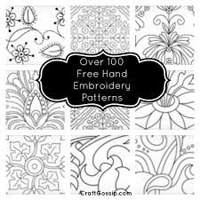 Free Hand Embroidery Patterns Delectable Over 48 Free Hand Embroidery Patterns Needle Work