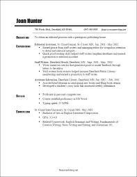Reverse Chronological Resume Template Word Free Download 2018