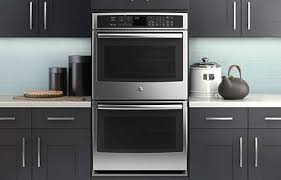 oven in kitchen. beautiful built-in stainless ovens can give your kitchen an instant facelift. plus, oven in b