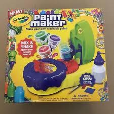 Crayola Paint Maker Ebay