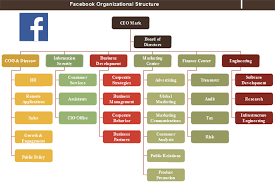Coo Org Chart Facebook Organizational Structure Check The Big Figure