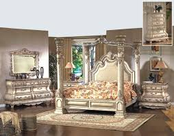 four poster bedroom furniture. Caledonian Victorian Inspired Antique White Poster Canopy Bed Luxury Bedroom Set Four Furniture R