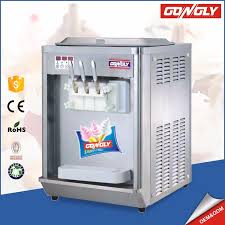 Soft Serve Vending Machine Stunning Gongly Twin Twist Automatic Table Top Soft Serve Ice Cream Vending