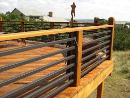 image of deck railing ideas diy