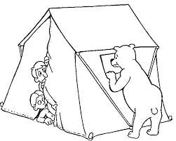 Small Picture Camping Coloring Pages GetColoringPagescom