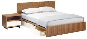bed furniture design. minimalist aesthetic bedroom furniture design blu dot bedframe series by keetsa bed
