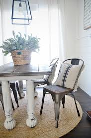 wooden farmhouse chairs. Plain Chairs Rustic Metal U0026 Wood Dining Chairs With A Farmhouse Table And Wooden Farmhouse Chairs V