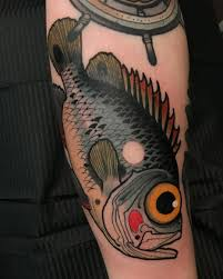 Traditional Fish Tattoo 97 Images In Collection Page 3