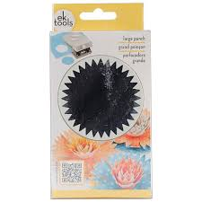 Flower Paper Punch Tool Large Punch Starburst 2 375 7269643 Hsn