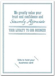 Business Thank You Note Cards Thank You Cards With Slots For Business Card Business Greeting