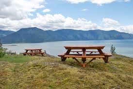 round picnic tables options 6 diameter attached benches redwood standard