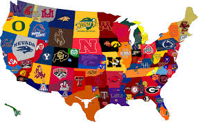 how to get recruited published in usa today hss on 23 2016 map of the country broken down by college