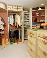 image of small walk in closet layout ideas