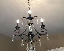hampton bay bronze chandelier bright inspiration oil rubbed bronze chandelier with crystals bay 4 light crystal