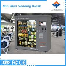 Popular Types Of Vending Machines Amazing Public Use Outdoor Type Mini Mart Vending Machine With Shelter View