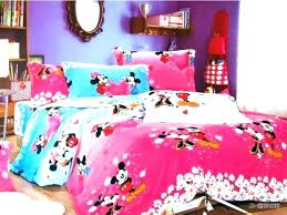 Minnie Mouse Bedroom Set Full Size And Mickey Room Decor Colors ...