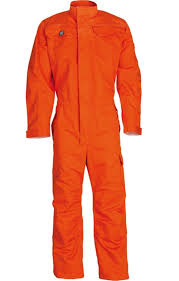 Picture Of Wenaas Fr Industry Coverall 350gsm Orange