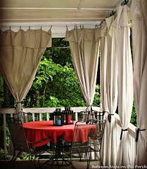 diy outdoor curtains made from drop cloths