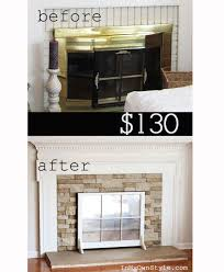 airstone fireplace makeover in my own style