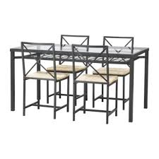 glass dining table ikea. granÅs table and 4 chairs, black, glass $179.00 article number: 401.343.47 dining ikea n