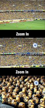 Just Some Brazilian Football Fans Gracioso Funny Funny Minion