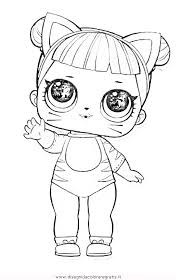 Disegno Lol Surprise3 Personaggio Cartone Animato Da Colorare