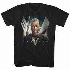 Ragnar T Shirt Design Details About Vikings History Tv Show Licensed T Shirt