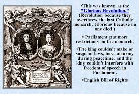 「Much of the Virginia Declaration had roots in the English Bill of Rights, drafted in 1689 upon the overthrow of Catholic King James II by Protestant Queen Mary and her husband King William III.」の画像検索結果