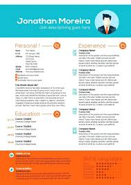 Word Curriculum Vitae Template Best Of Creative Resume Templates ...