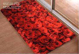 heart shaped rug fashion personality married to new premises festive red mat mats cushion the marriage