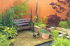 corner garden idea use colour to set the tone small corner garden ideas uk