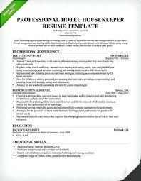 House Cleaning Resume Sample Elegant Housekeeping Resume Objective
