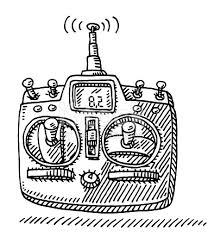 remote control drawing. remote control drawing a