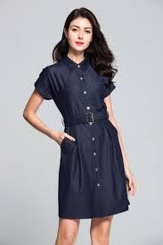 British Style New <b>2019 Summer Short</b> Sleeve <b>Simple</b> Slim Denim ...
