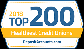 for a plete listing of the 2018 top 200 healthiest credit unions in america visit the occu depositaccounts rating page