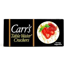 Carrs Mini Table Water Crackers 22 Oz Each 4 Items Per Order