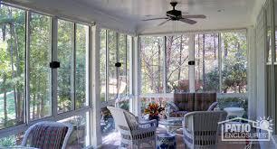 sunroom interiors. White Aluminum Frame Three Season Room With Custom Wood Roof Sunroom Interiors