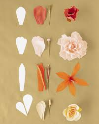 Make Crepe Paper Flower How To Make Crepe Paper Flowers Martha Stewart