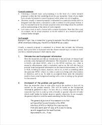 How To Develop A Research Proposal Best 44 Proposal Examples PDF